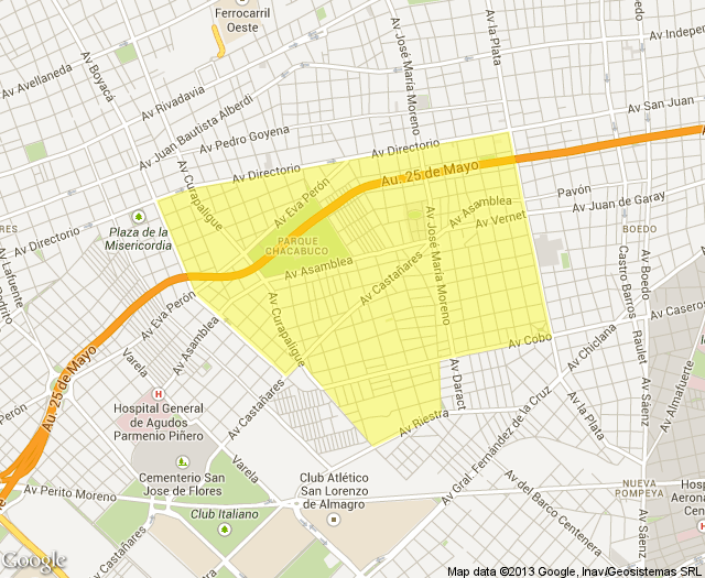 staticmap Parque chacabuco