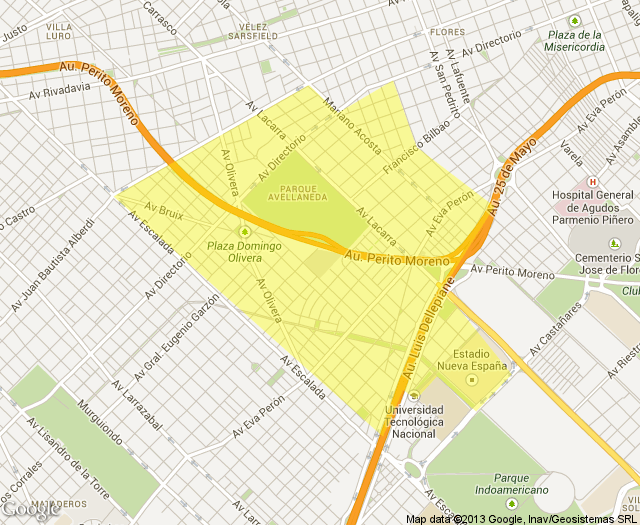 staticmap parque avellaneda